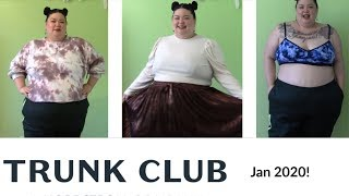 Trunk Club for Larger Plus Sizes // 1st Trunk of 2020!! More Puffed Sleeves!