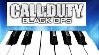 Call of duty black ops 2 zombies theme song on the piano