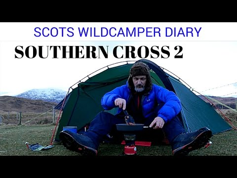 Terra Nova Southern Cross 2 real world experience footage wild camping in Scotland.