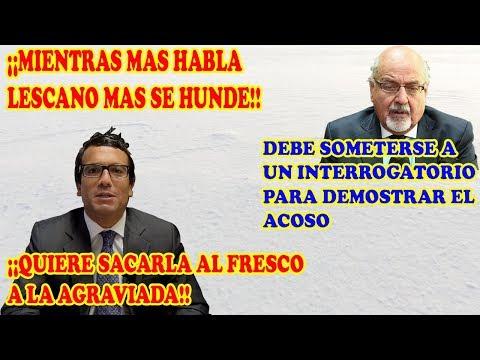 CHRISTIAN HUDTWALCKER - ¡¡MIENTRAS MAS HABLA LESCANO MAS SE HUNDE!!