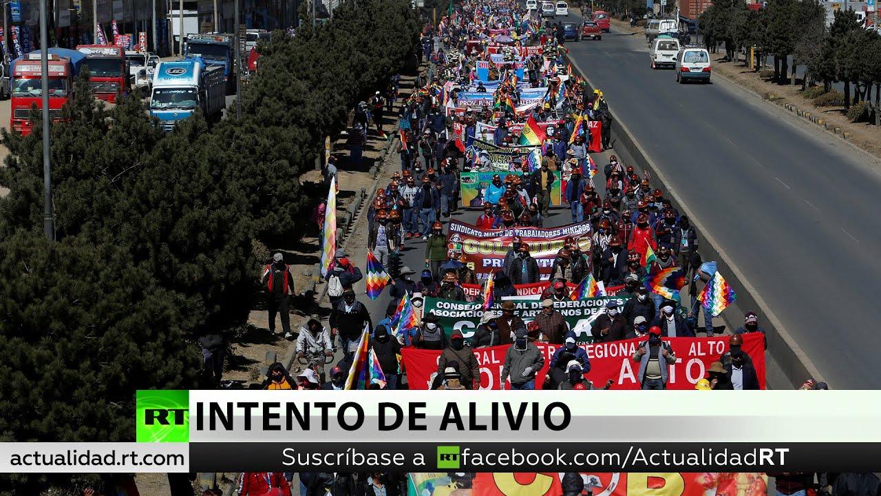 """Analista: """"La popularidad de Arce obliga a Jeanine Áñez a posponer las elecciones en Bolivia"""""""