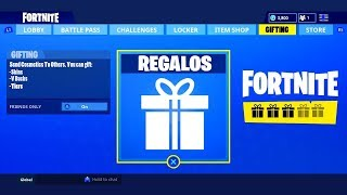 GIFT SKINS TO FRIENDS IN FORTNITE! New FUNCTION TO ARRIVE SOON! Fortinte: Battle Royale