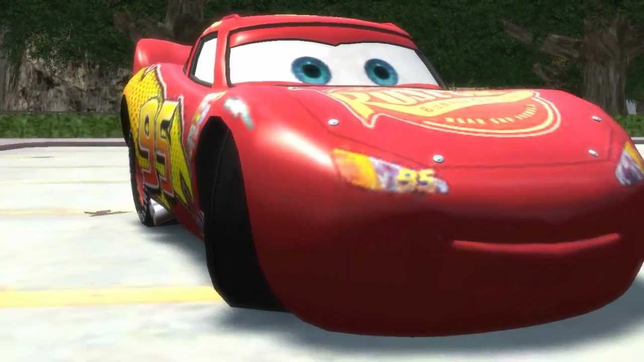 Lightning Mcqueen The Cars Movie Gta Iv Youtube