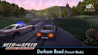 3dfx Voodoo 5 6000 AGP - Need For Speed: High Stakes - Durham Road (Pursuit Mode) [Gameplay/60fps]