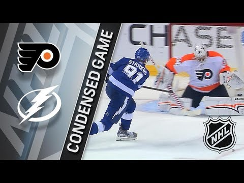Philadelphia Flyers vs Tampa Bay Lightning – Mar. 03, 18, 2018 | Game Highlights | NHL 2017/18.Обзор