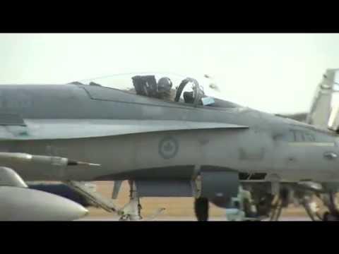 RAW: CF-18 fighter jets head to Kuwait