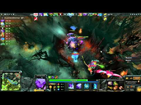 LGD Vs Na`Vi -  Winner Bracket Semifinals Game 3 - The International - Russian Commentary