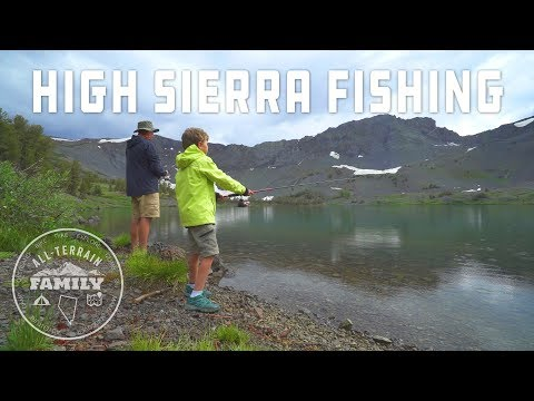 High Alpine Lake Fishing And Camping In The Sierra Nevada