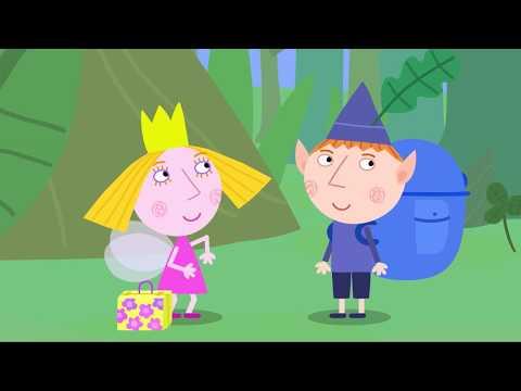 Ben Y Holly En Español 🏕🧺⛱️ El Picnic De Lucy 🏕🧺⛱️ Dibujos Animados Divertidos Para Niños
