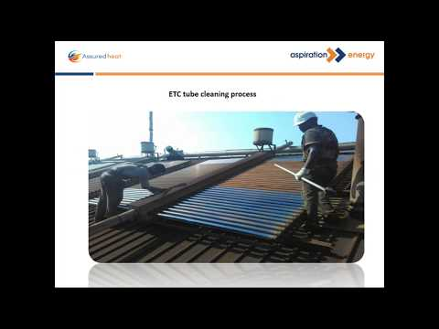 Good practices in maintaining industrial solar water heaters