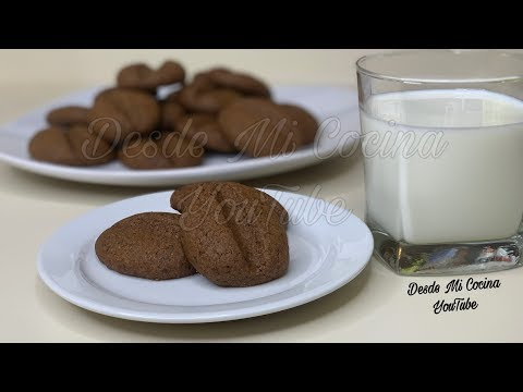 GALLETITAS DE CAFE -Super faciles y Deliciosas- || DESDE MI COCINA by Lizzy
