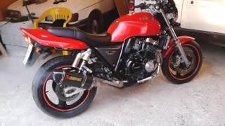 Honda CB400 AKRAPOVIC.обзор Акрапович. Выхлоп. 2019