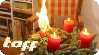 Adventskranz brennt - Was tun? Alles Wissenwerte zum Thema Weihnachten | taff | ProSieben