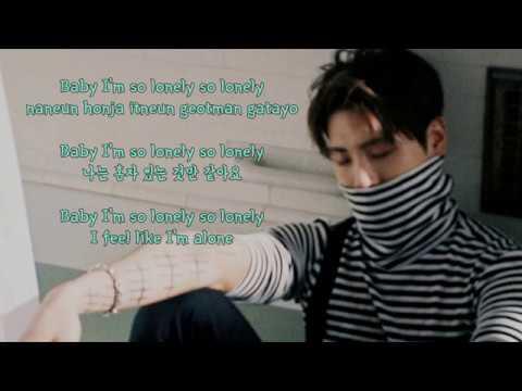 Duet with Jonghyun (Karaoke) - JONGHYUN 종현 Feat. 태연 - Lonely Instrumental + Lyrics