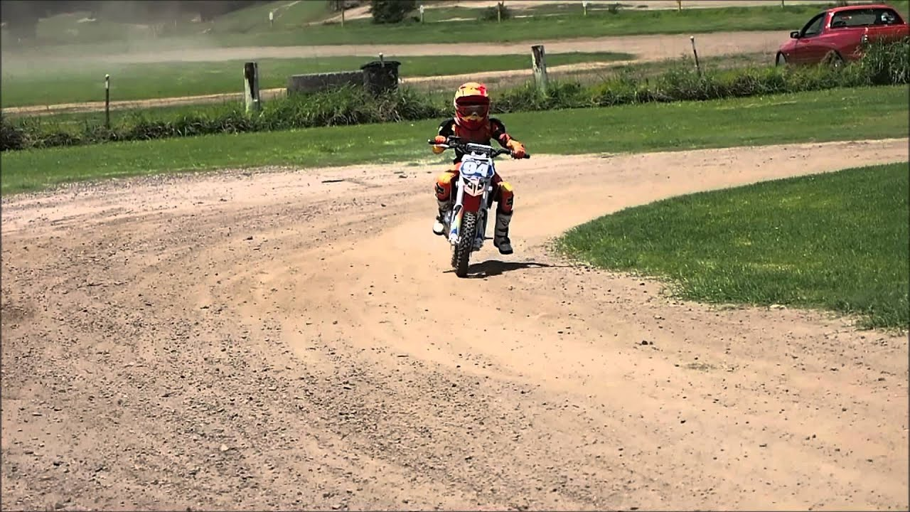 Pacific Park First Day On Ktm 50 Sx On My Birthday Youtube