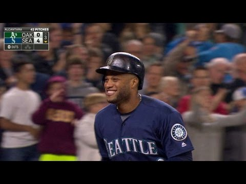 OAK@SEA: Cano launches second homer to center