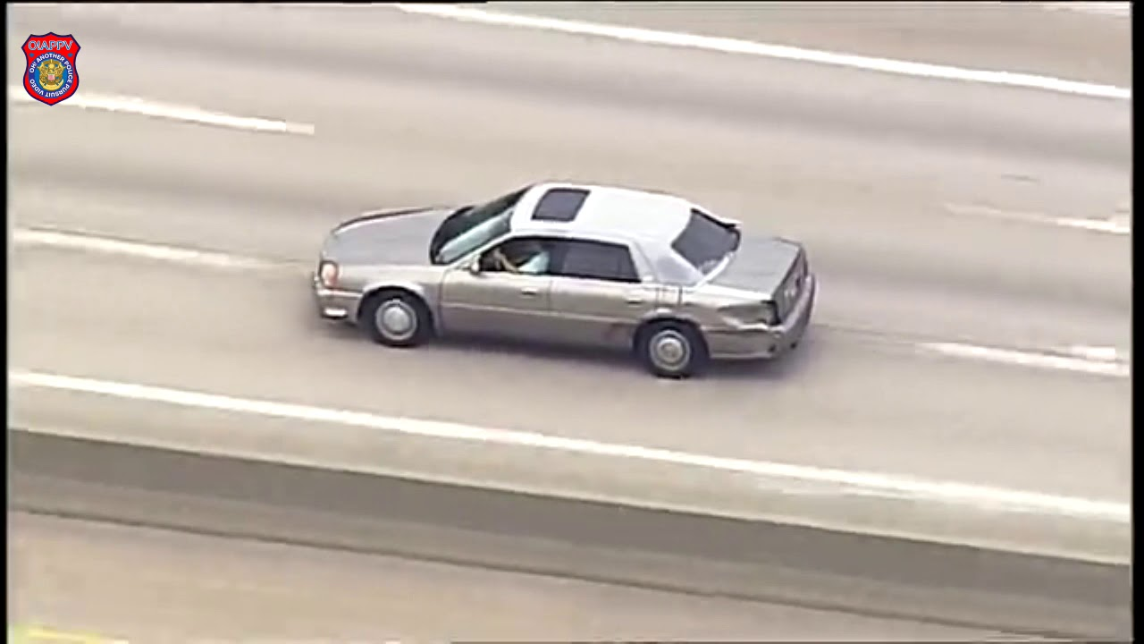 Police Chase Cadillac From Dupo Illinois To St. Louis Missouri - June 29, 2020