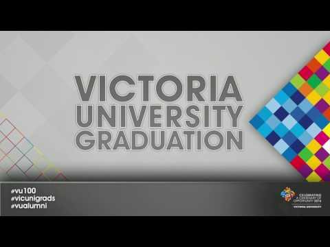 Victoria University, Melbourne Australia, December Graduation,  Ceremony 1