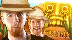 ANDRES GEHEIME SCHUL-STORYS! - Temple Run Gametime (mit BESTRAFUNG!)