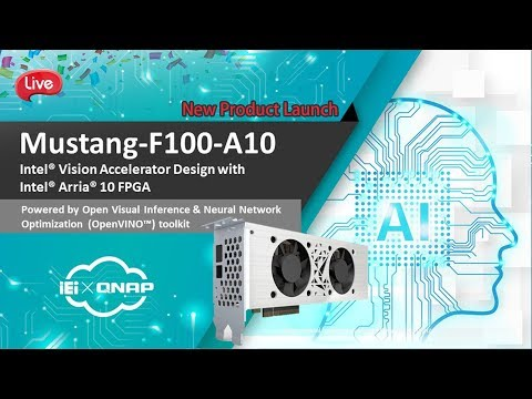 Mustang-F100-A10 AI Accelerator Computer   An Intel® Vision