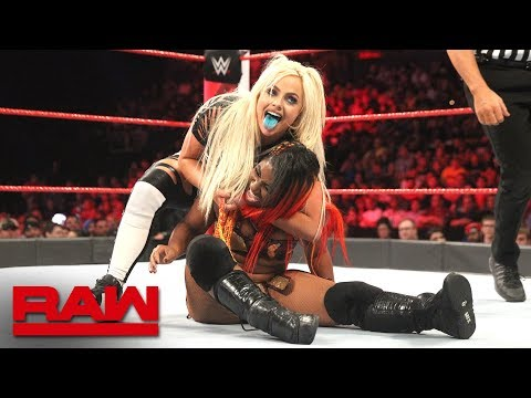 Ember Moon vs. Liv Morgan vs. Raw July 9, 2018