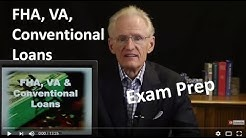21 FHA, VA, Conventional Loans-Arizona Real Estate License Exam Prep