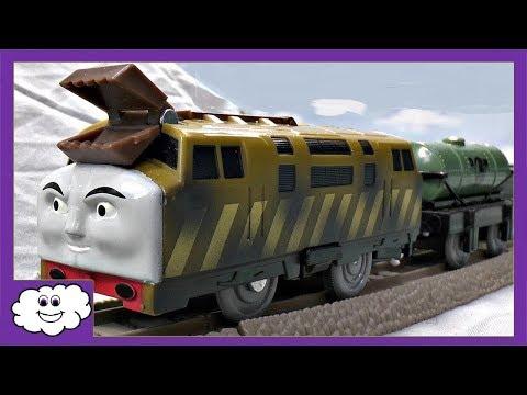 Thomas The Tank Engine Bandai Tecs Diesel 10 Amp Donald Doovi