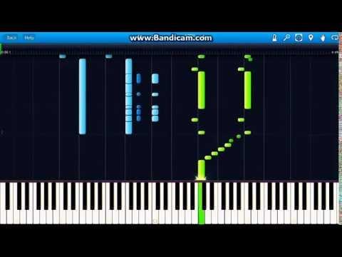 G. Bizet-March of the Toreadors - Carmen - Piano (Synthesia)