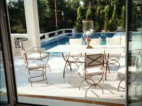 Mobiliario para jardin rep blica dominicana mobiliario para exterior mesas youtube - Mobiliario para jardin ...