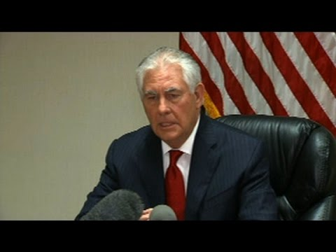 Tillerson discusses US relationship with China
