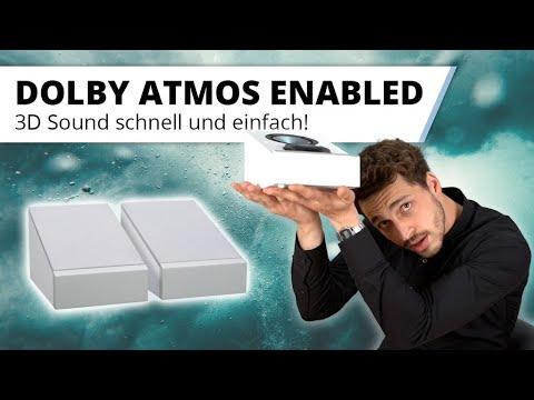 Dolby Atmos Enabled - schnell und einfach zum 3D Kinosound!