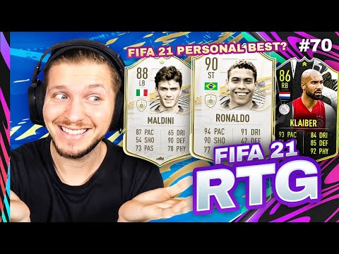 I GOT MY BEST FINISH SO FAR WITH MY MAGICAL RTG SQUAD!! FIFA 21 ULTIMATE TEAM