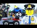 LEGO Vehicles Animation Kids, Experimental Batman, Police Cars, Trucks | Billy Bricks Compilations