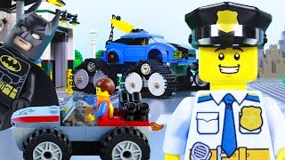 LEGO Vehicles Animation Kids, Experimental Batman, Police Cars, Trucks | Billy Bricks Compilations