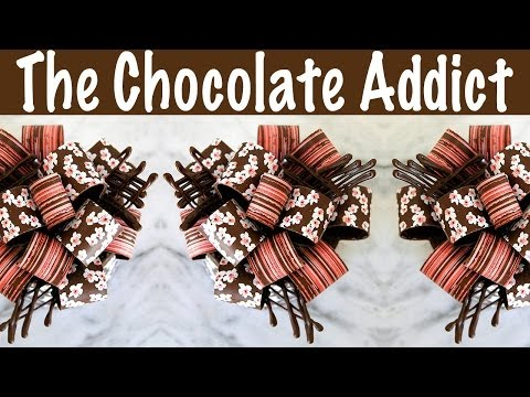 how to make chocolate garnishes