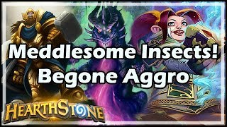 [Hearthstone] Meddlesome Insects! Begone Aggro