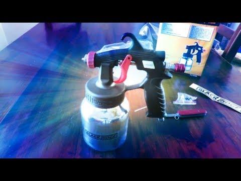 🛠️ Review - Low Pressure Air Spray Gun By BlackRidge