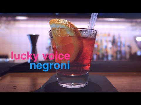 How To Make A Negroni Cocktail   Lucky Voice