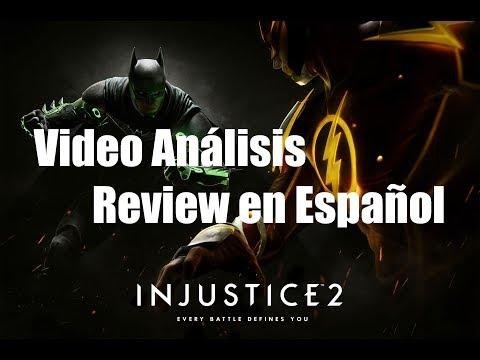 Injustice 2 - Vídeo Análisis / Review en Español - Opinión