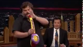 Jack Black plays his legendary Sax-A-Boom
