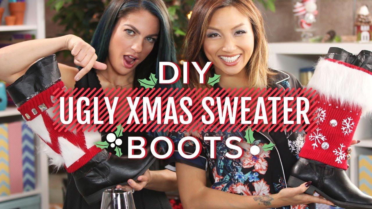 DIY KINKY CHRISTMAS BOOTS | Make. Talk. - YouTube