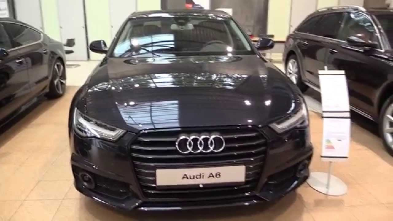 audi a6 s line 2016 in depth review interior exterior youtube. Black Bedroom Furniture Sets. Home Design Ideas