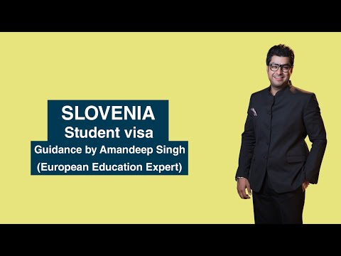 Slovenia Student visa Guidance by Amandeep Singh (European Education Expert)