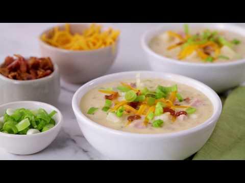 Loaded Potato Soup | Betty Crocker Recipe