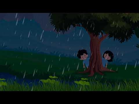 Rain Rhymes | Sky | Kale Megha Nursery Rhymes | काले मेघा हिंदी कविता