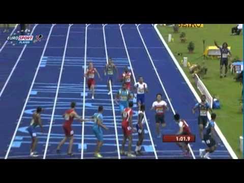 Lille IAAF World Youth Championships (FRA) Men's Sprint Medley 1000m