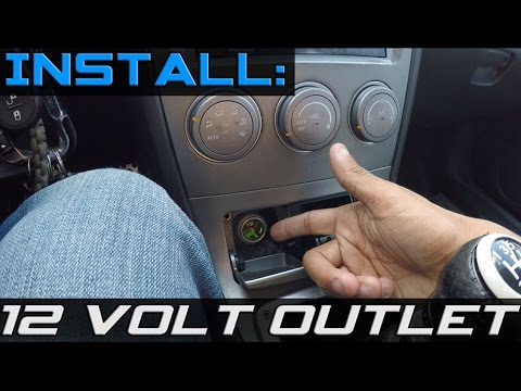 Install Cigarette Lighter Replacement
