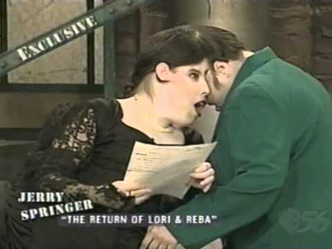 lori and reba schappell on jerry springer part 5 of 6