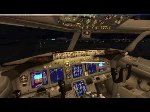 Microsoft Flight Simulator X обещанный полет по ППП Москва-Хабаровск