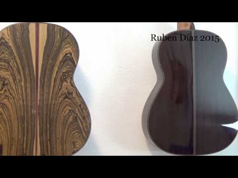 Flaw Detection Guidelines & Post-Paco de Lucia's Age in Flamenco Guitar Making / Ruben Diaz